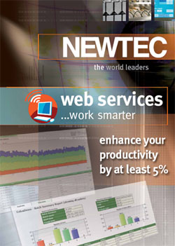 NEWTEC WEBSERVICE – OPTIMERA PRODUKTIONEN PÅ WEBBEN